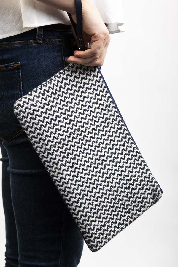 Handwoven Grace Clutch
