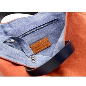 irish linen travelbag