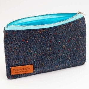 Travel Pouch (Blue Speckle)