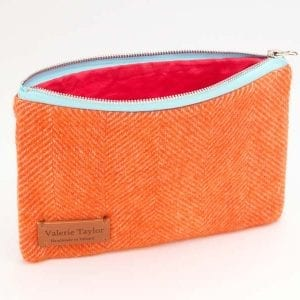 Travel Pouch (Bright Orange))