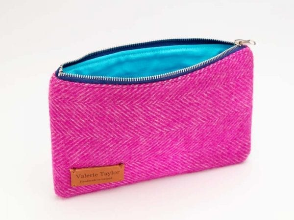 Travel Pouch (Bright Pink)